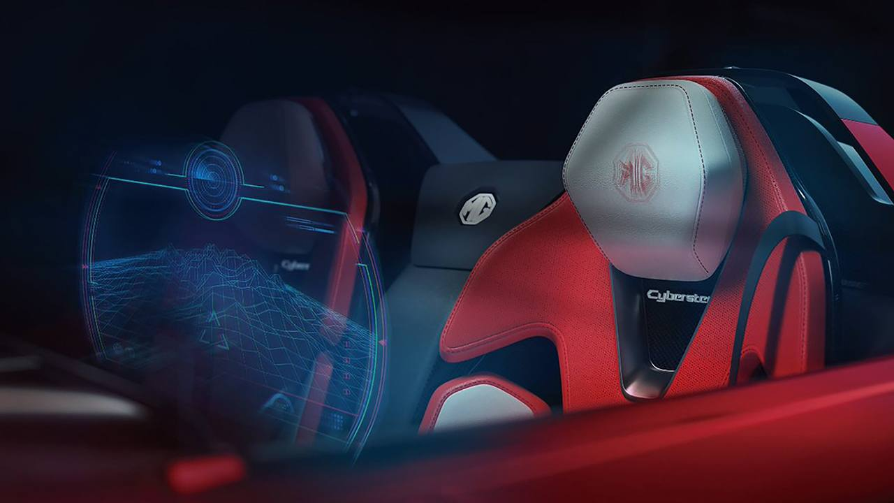 MG Cyberster Concept - interior