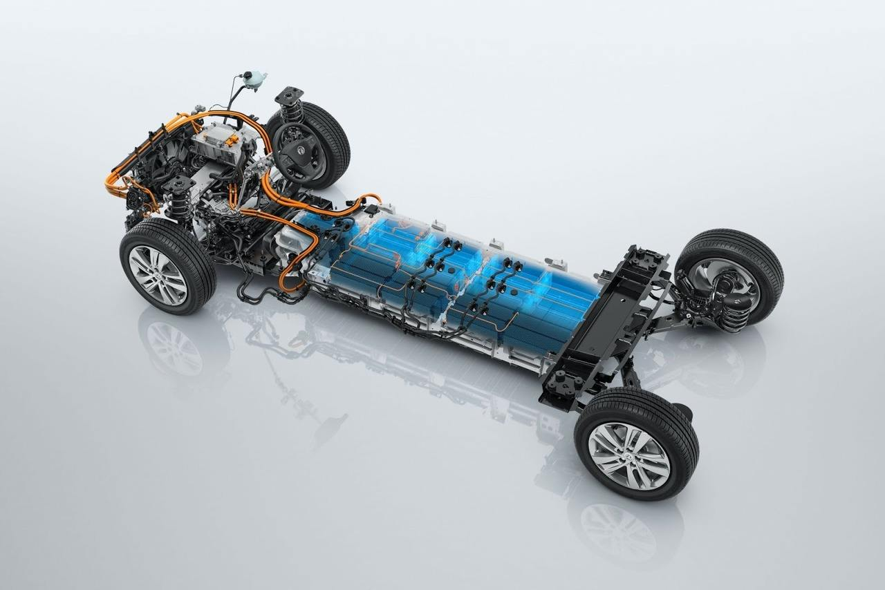 Plataforma del Opel Zafira e-Life, la furgoneta eléctrica