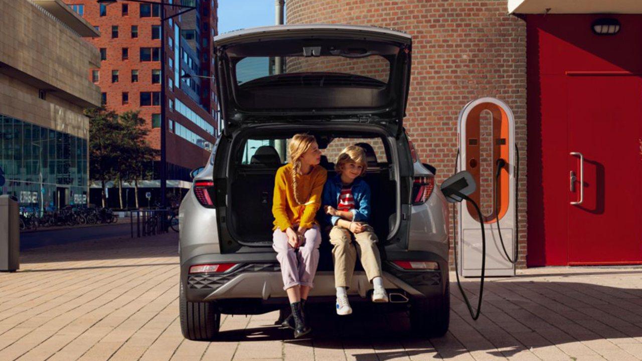 Hyundai Tucson PHEV - posterior