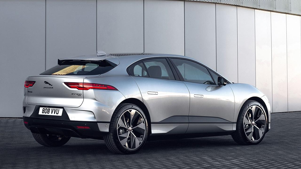 Jaguar I-Pace Black - posterior
