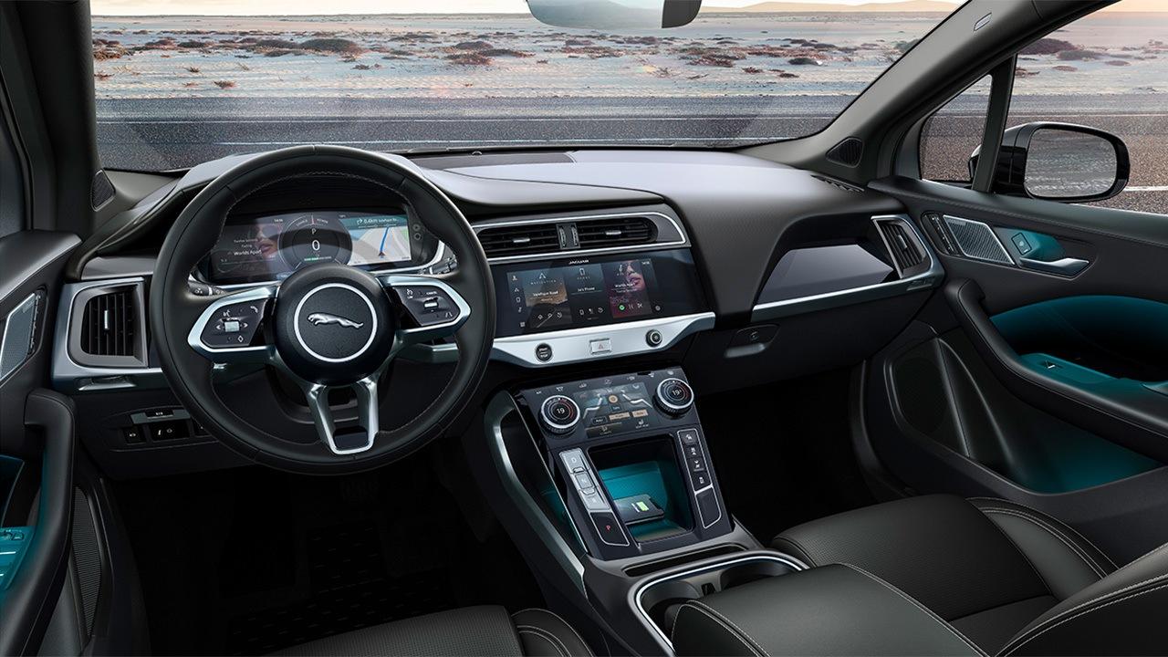 Jaguar I-Pace Black - interior