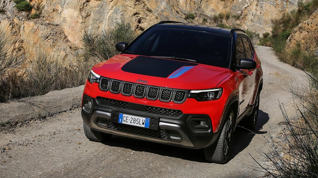 Jeep Compass 2022 - frontal
