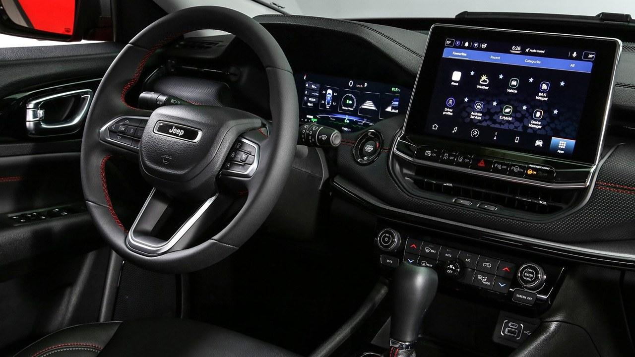 Jeep Compass 2022 - interior