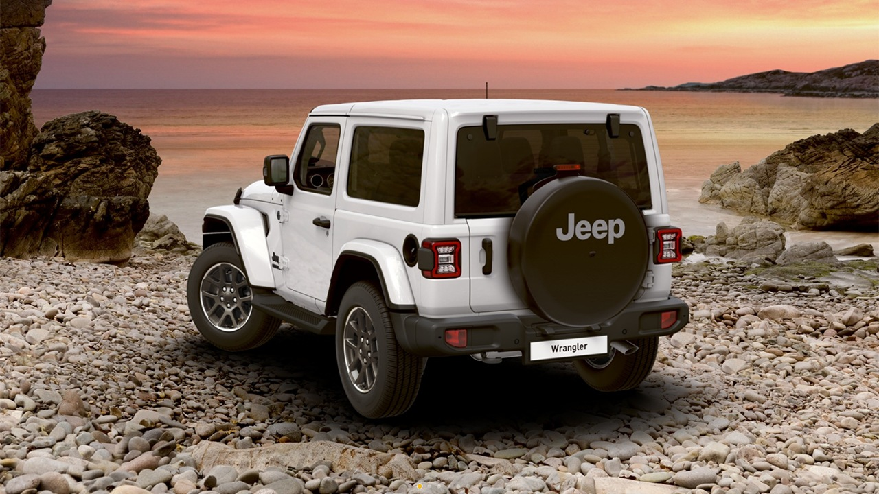 Jeep Wrangler 80 Aniversario - posterior