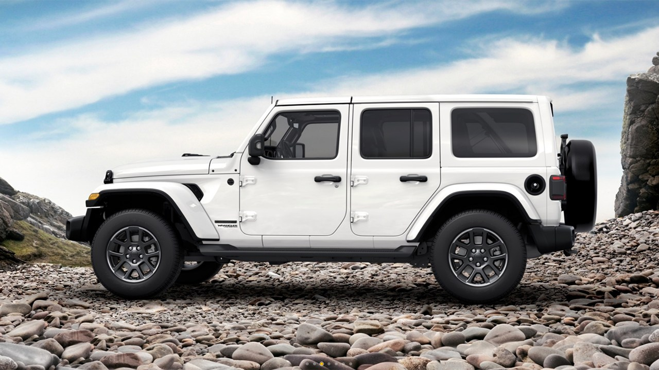 Jeep Wrangler Unlimited 80 Aniversario