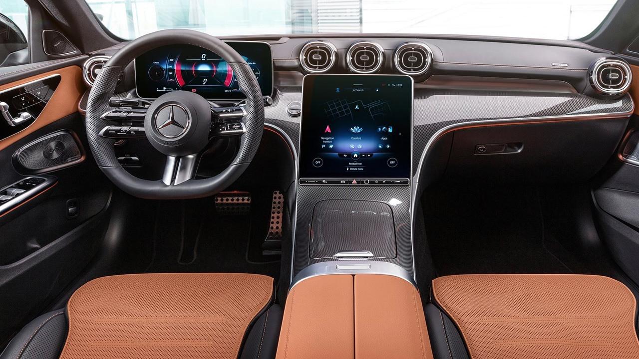 Mercedes Clase C 2021 - interior