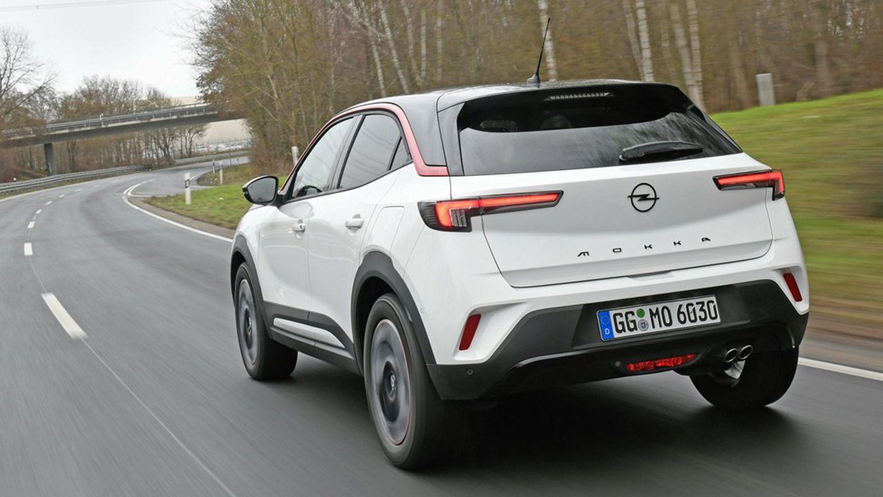 Opel Mokka 2021 - posterior