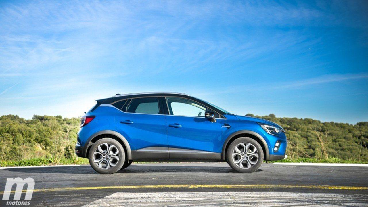 Renault Captur - lateral