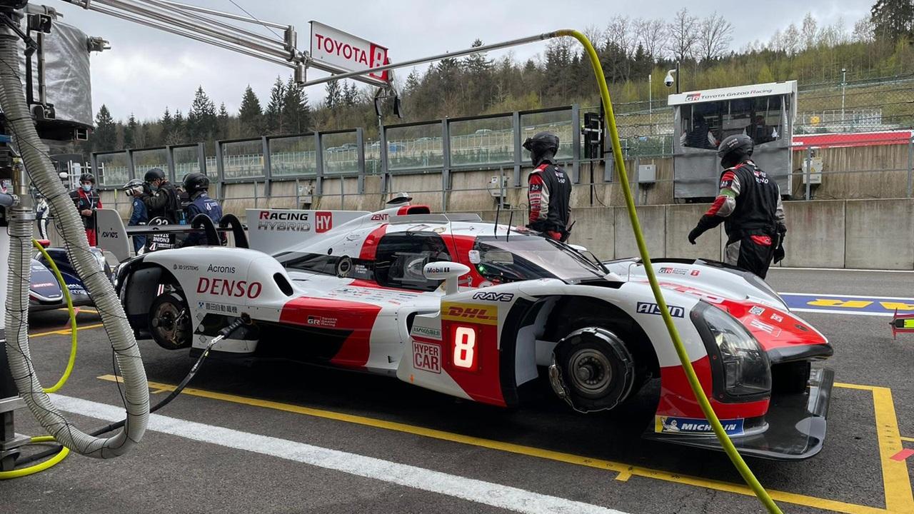 Los prototipos LMP2 también mandan en el FP1 de las 6 Horas de Spa