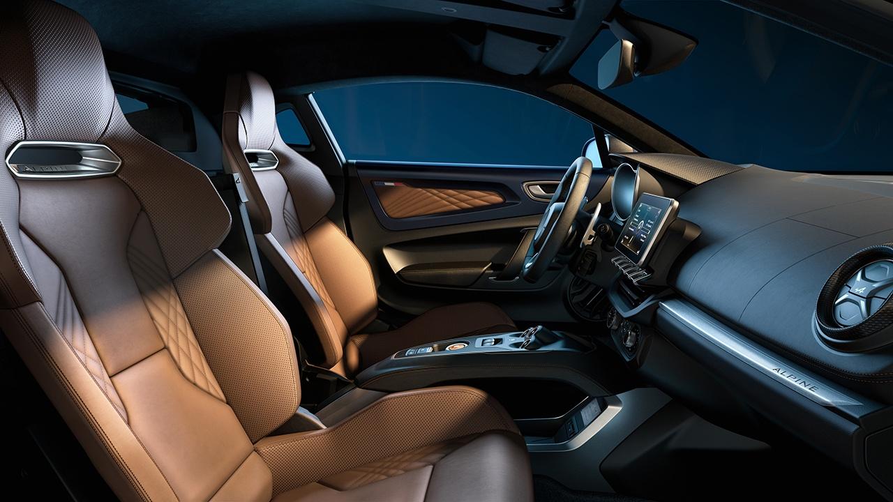 Alpine A110 Légende GT 2021 - interior