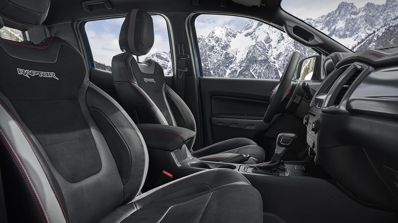 Ford Ranger Raptor Special Edition - interior
