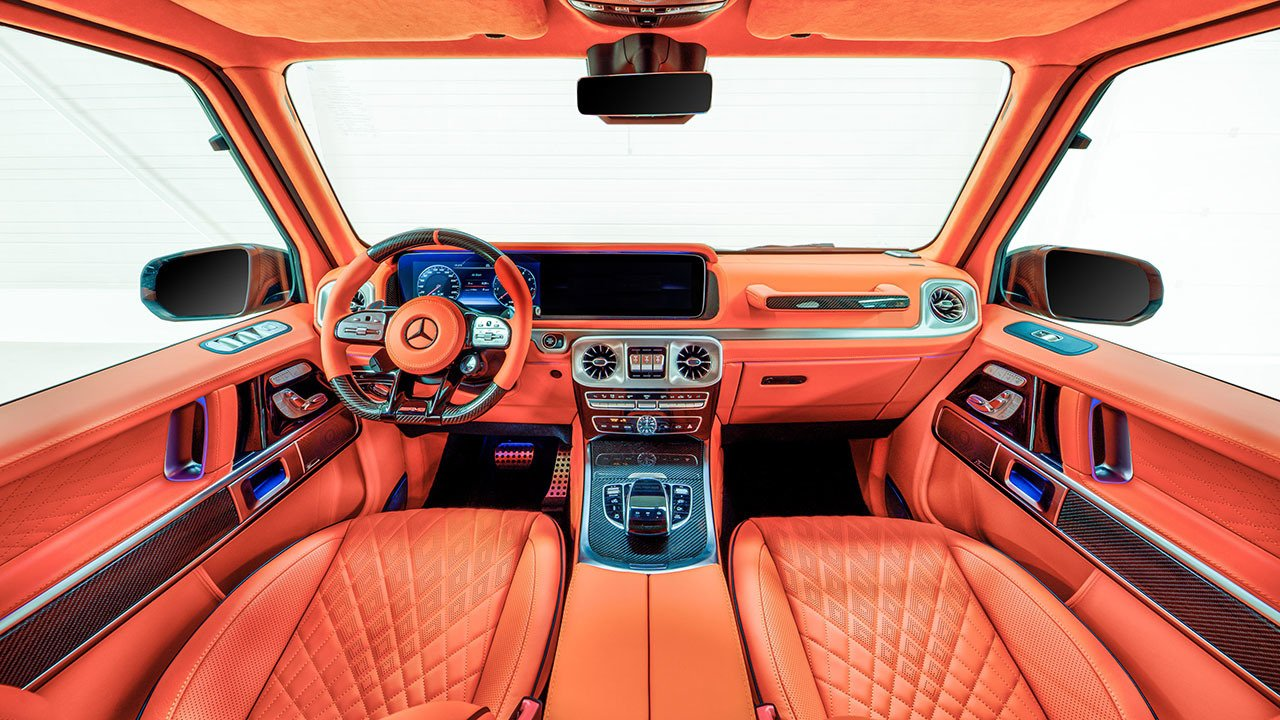 Hofele HG 63 Limitless - interior