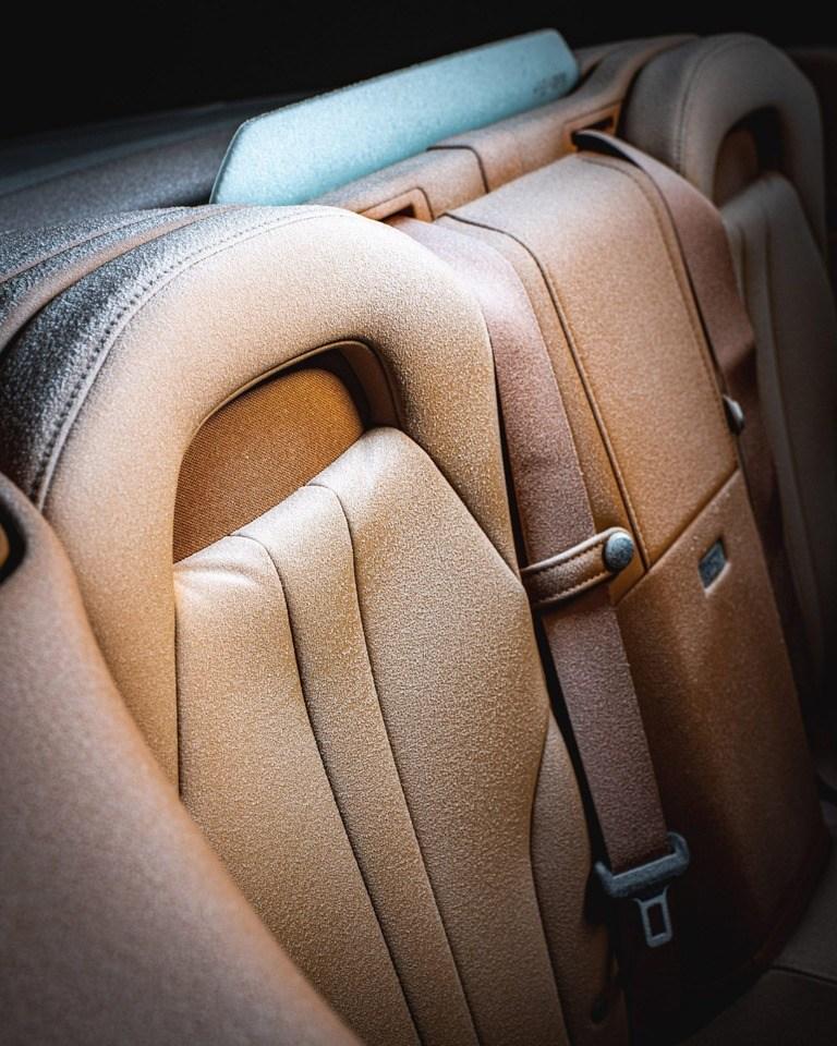 Foto Lexus LC Cabrio - interior