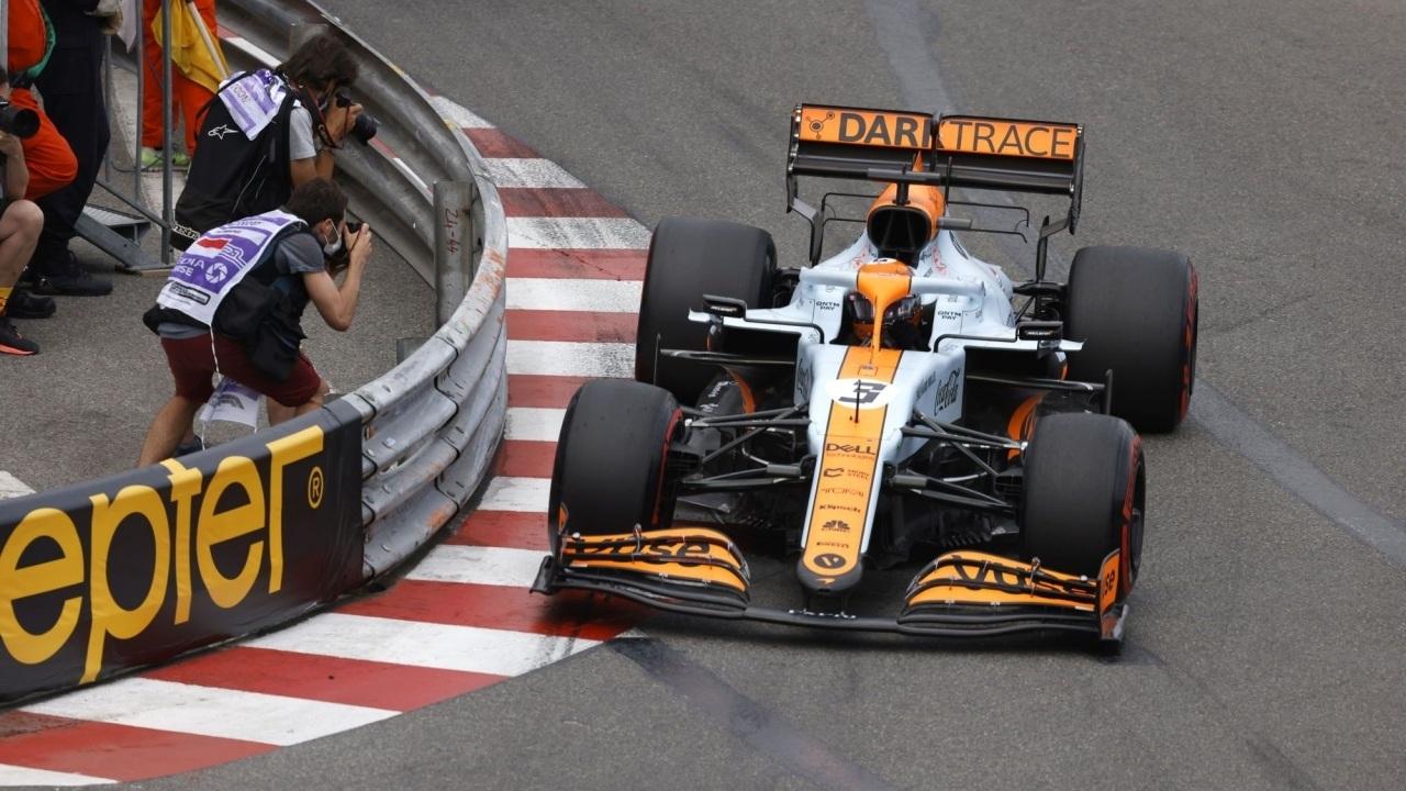 Daniel Ricciardo sufre especialmente en las curvas lentas, algo definitorio en Mónaco.