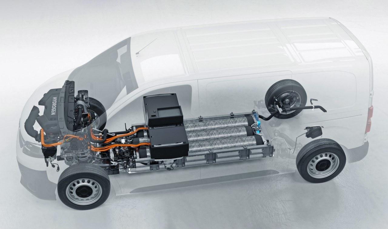 Foto Opel Vivaro-e Hydrogen - técnica