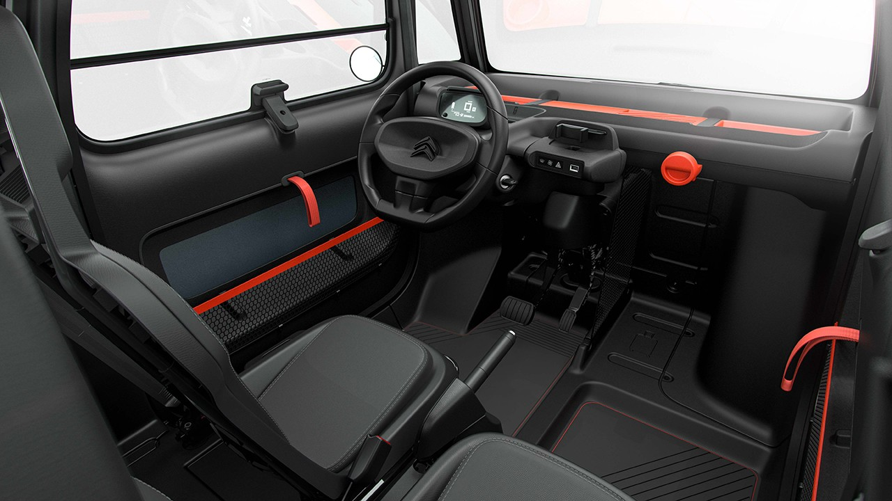 Citroën Ami - interior