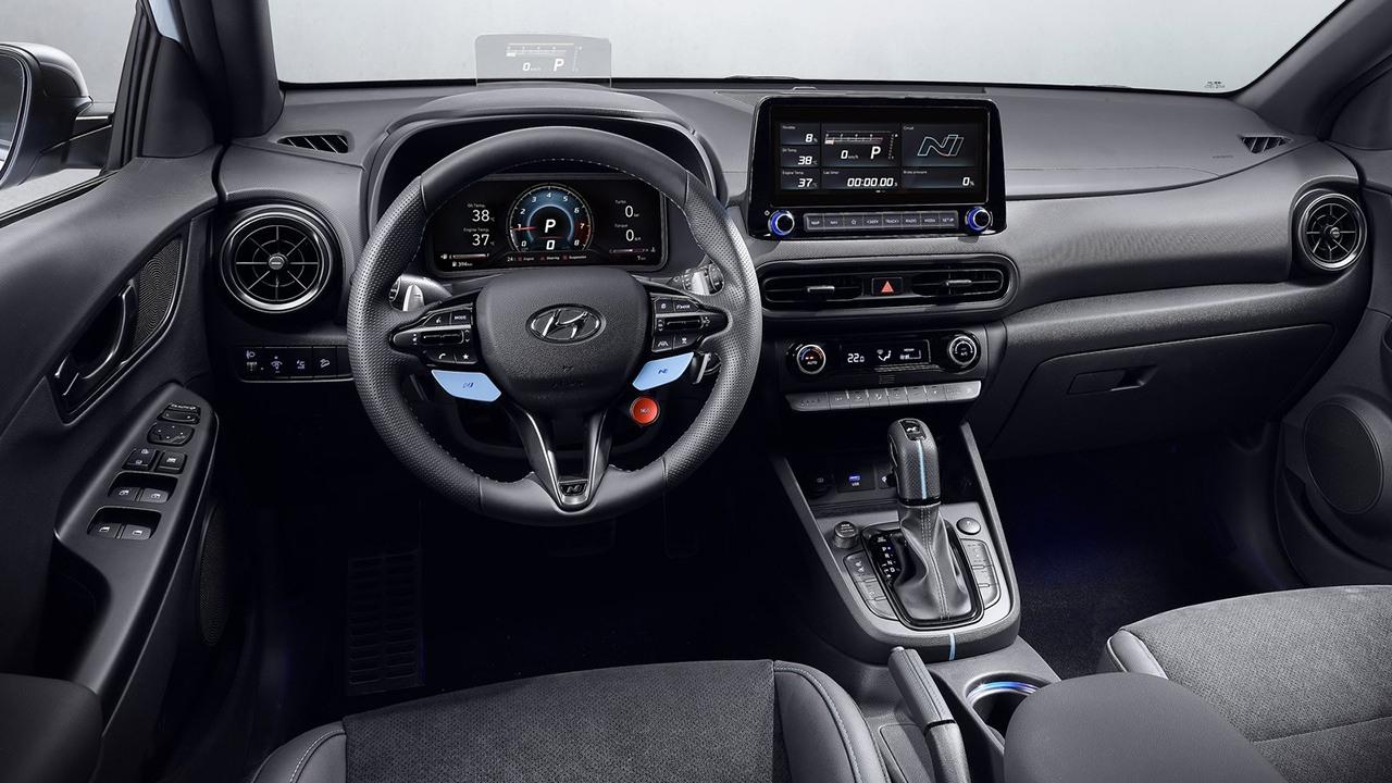 Hyundai Kona N - interior