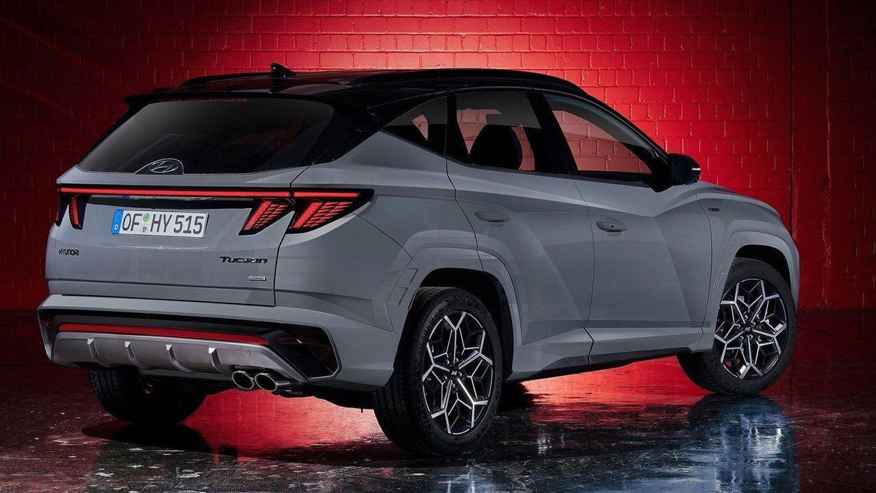 Hyundai Tucson N-Line - posterior