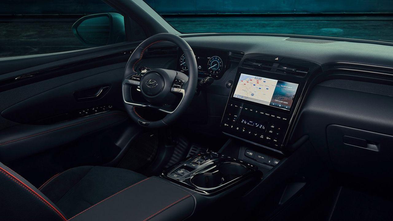 Hyundai Tucson N-Line - interior
