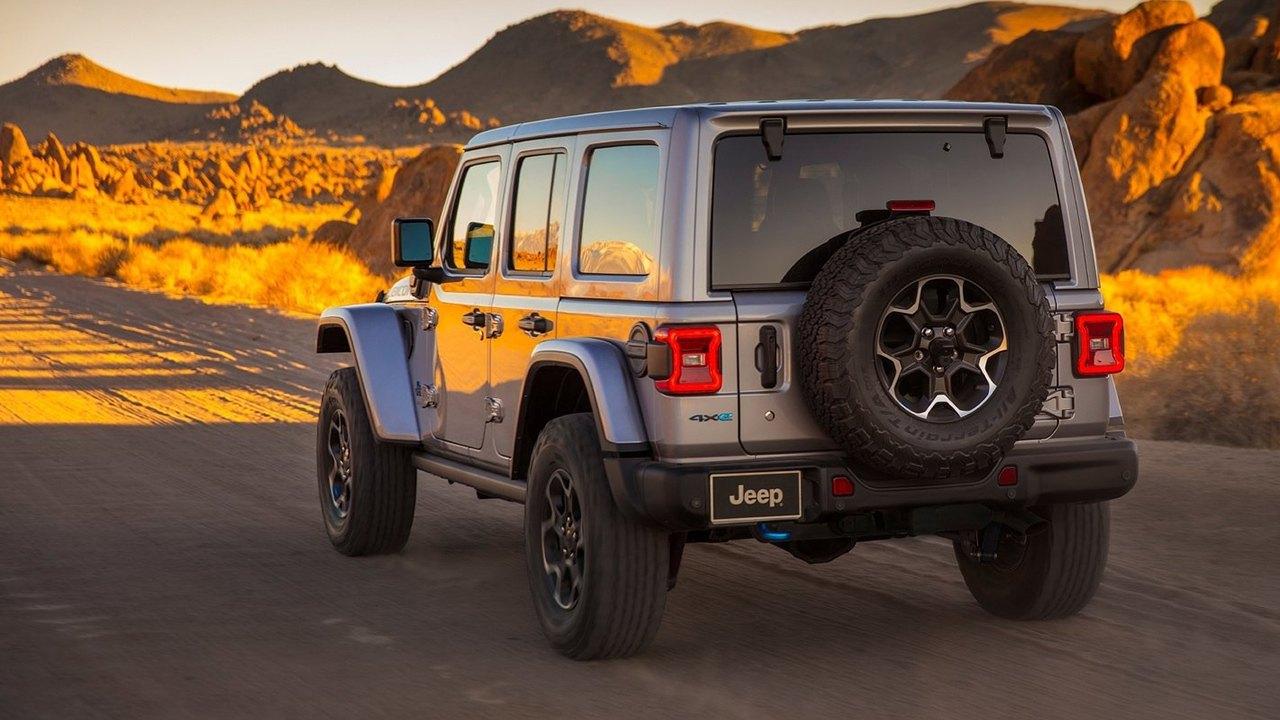 Jeep Wrangler 4xe - posterior