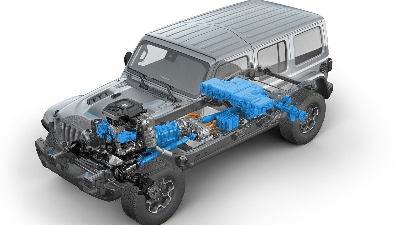 Jeep Wrangler 4xe - sistema de propulsión