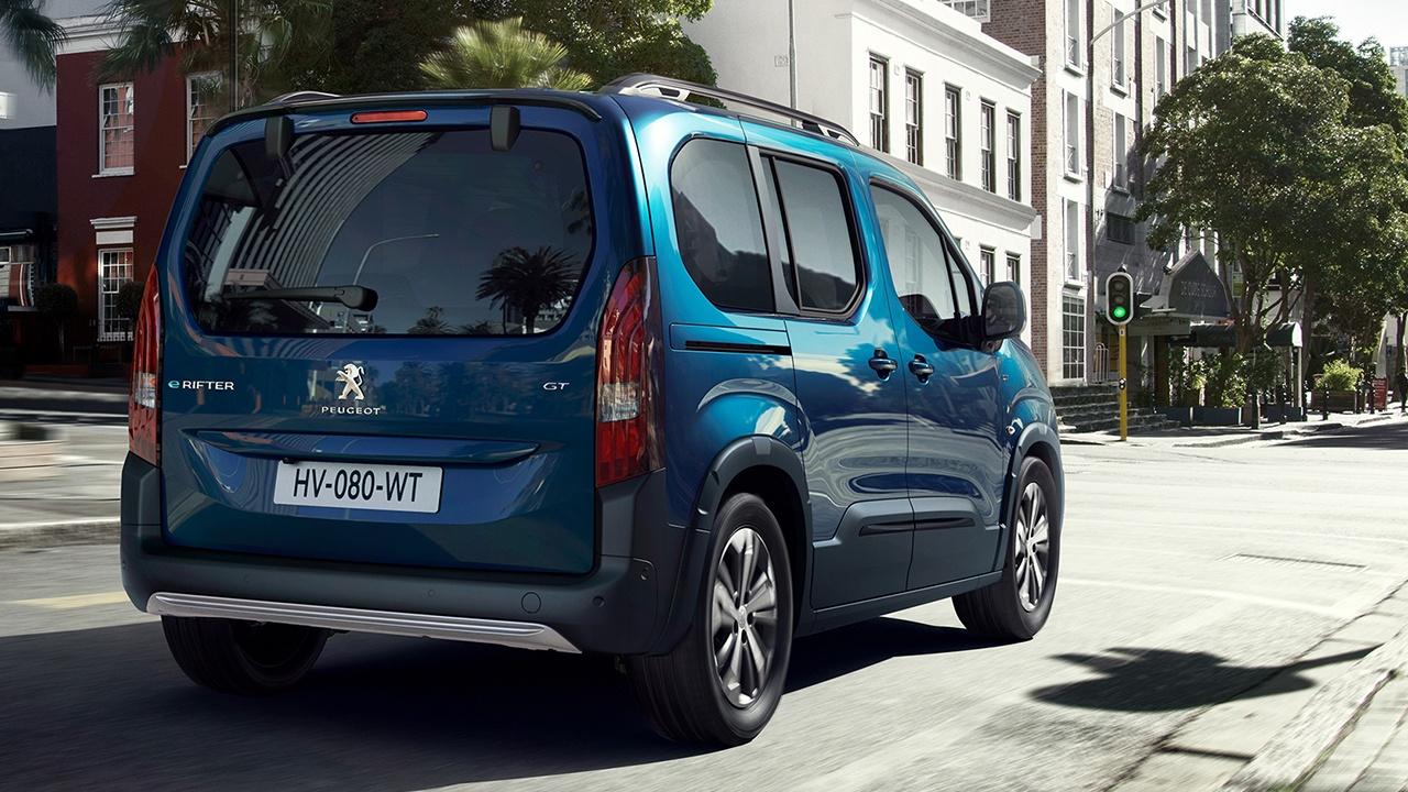 Peugeot e-Rifter - posterior