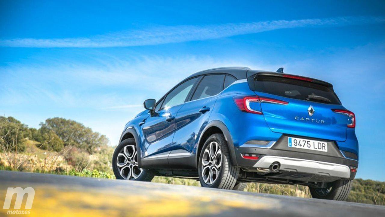 Renault Captur - posterior