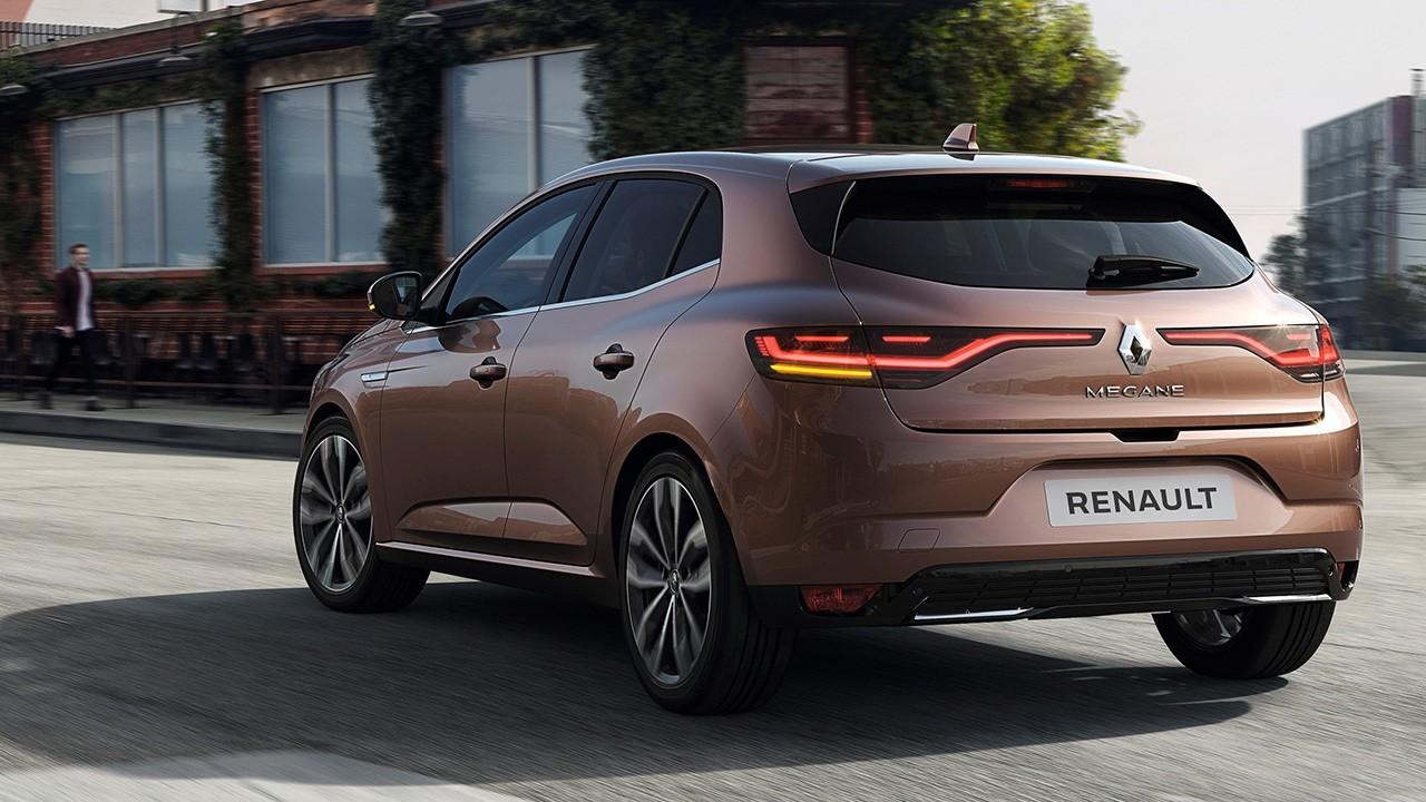 Renault Mégane - posterior