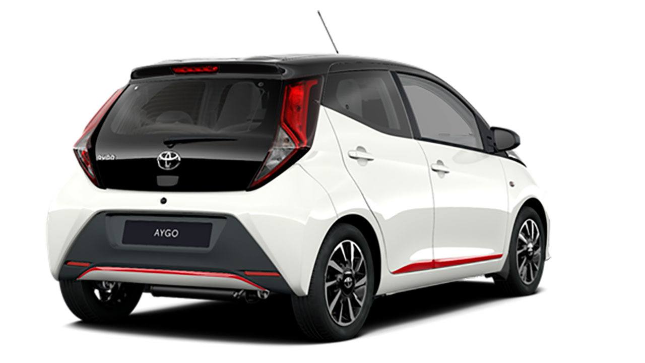 Toyota Aygo 2021 - posterior