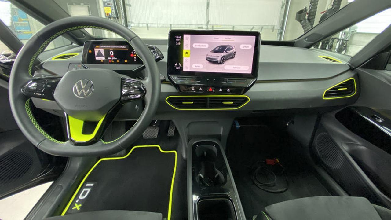 Volkswagen ID.X Concept - interior