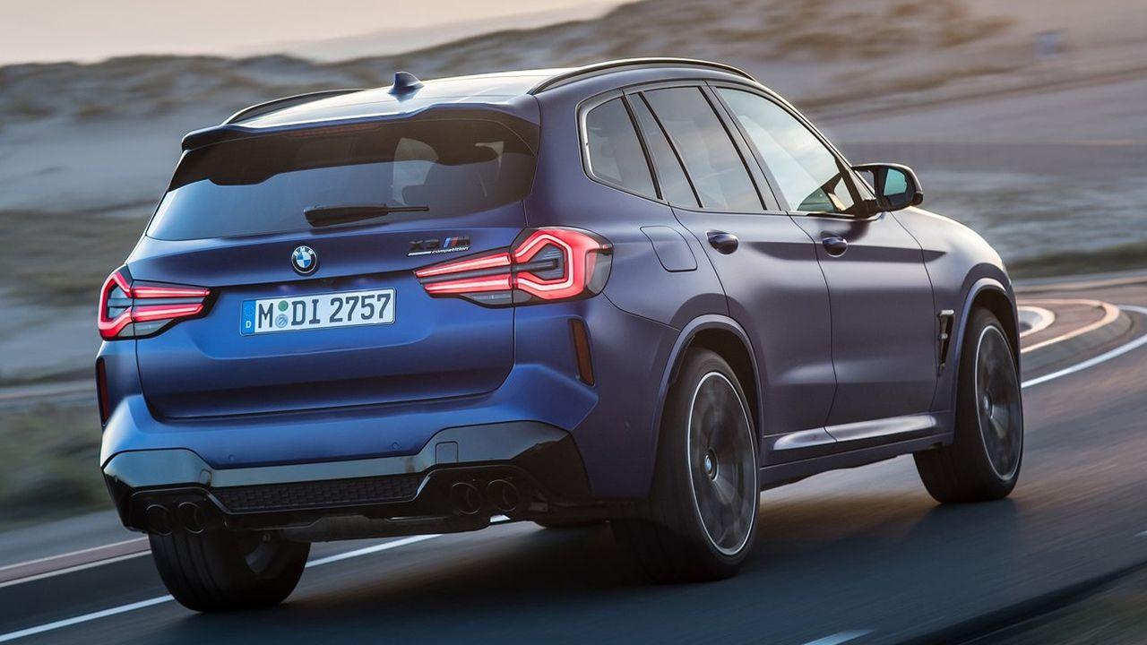 BMW X3 M 2022 - posterior
