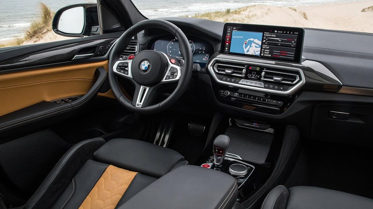 BMW X3 M 2022 - interior