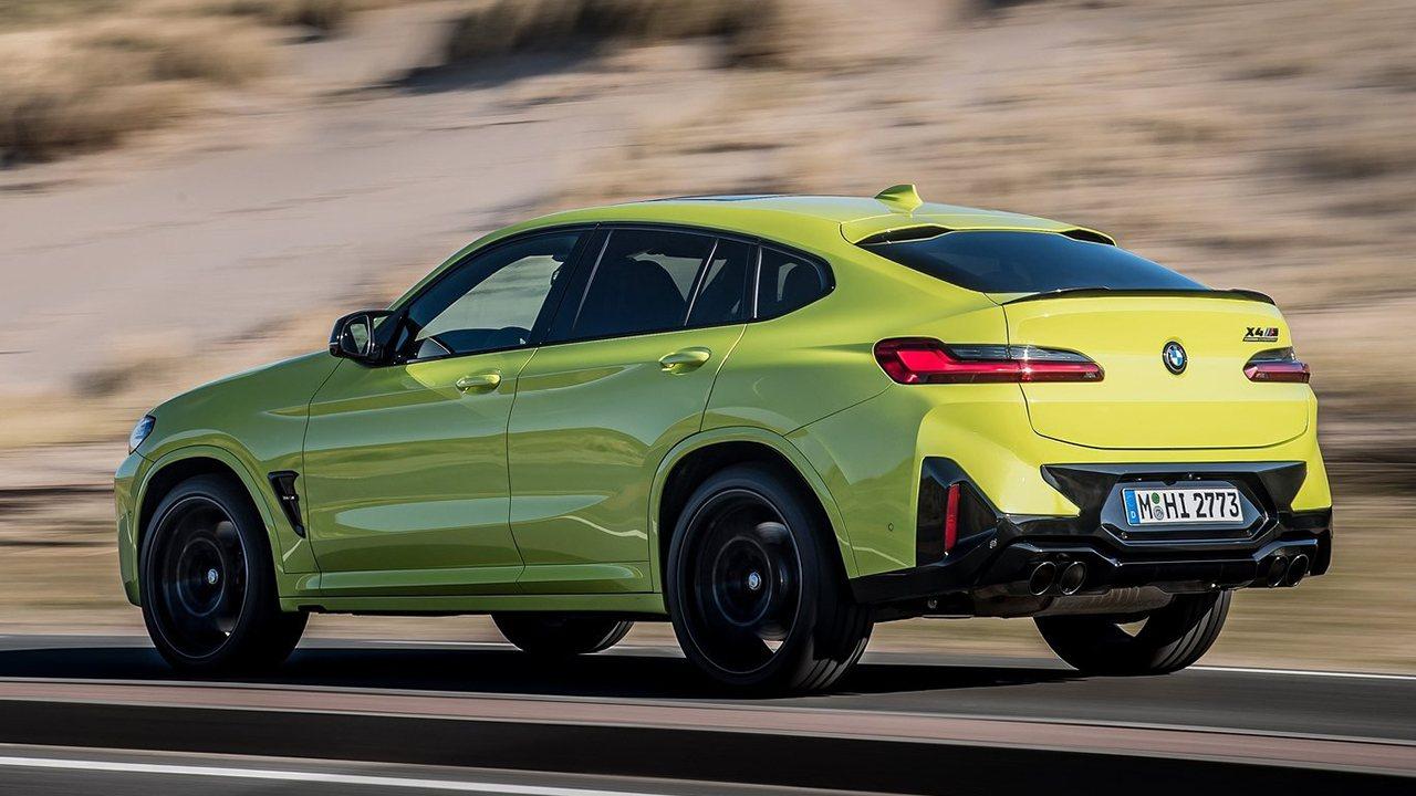 BMW X4 M 2022 - posterior