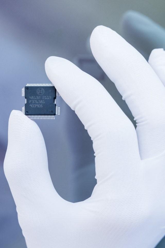 Foto microchips Bosch