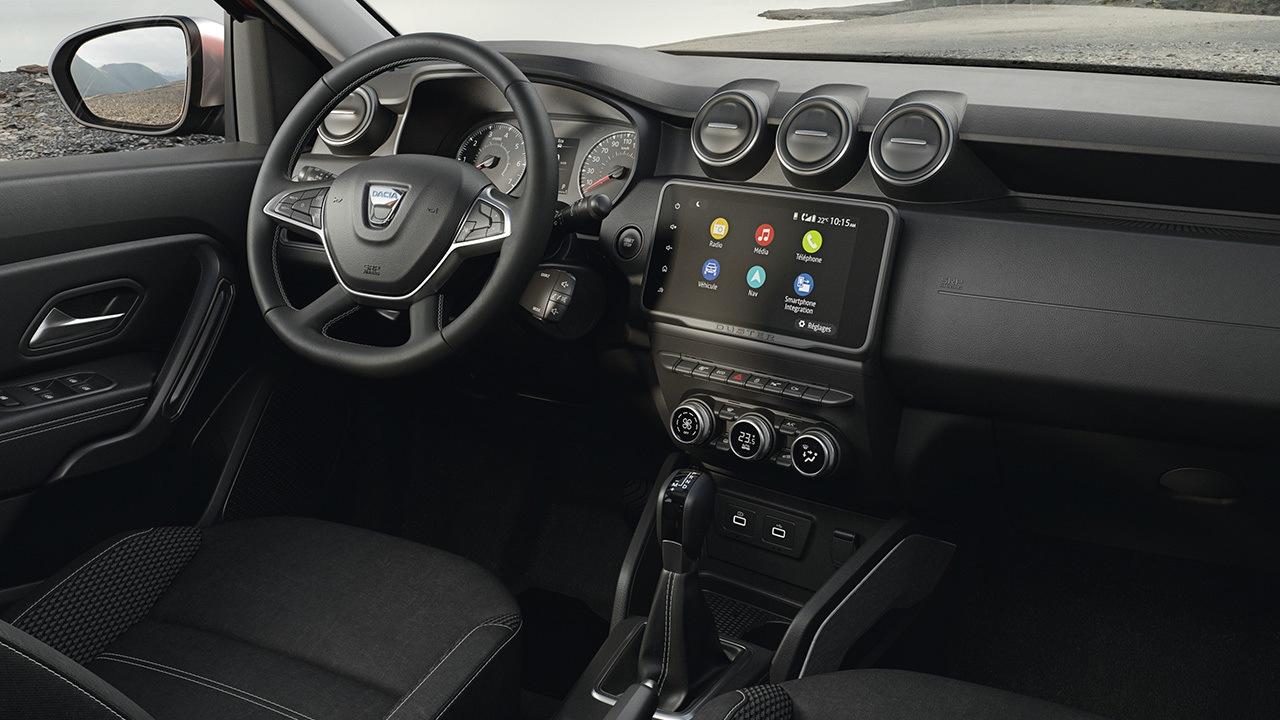 Dacia Duster 2022 - interior