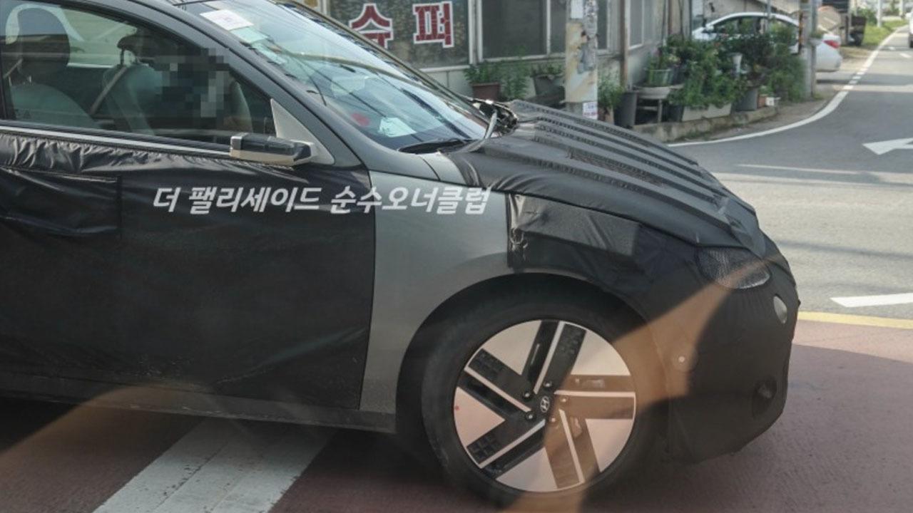 Hyundai IONIQ 6 - foto espía