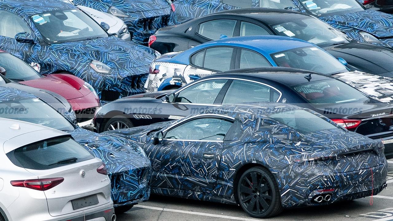 Maserati GranTurismo 2022 - foto espía
