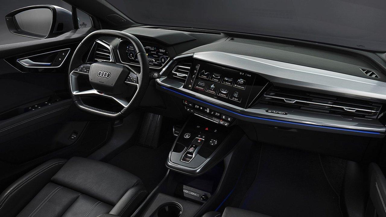Audi Q4 Sportback e-tron - interior