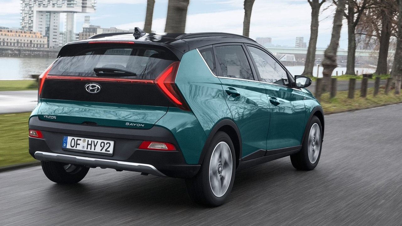 Hyundai Bayon - posterior