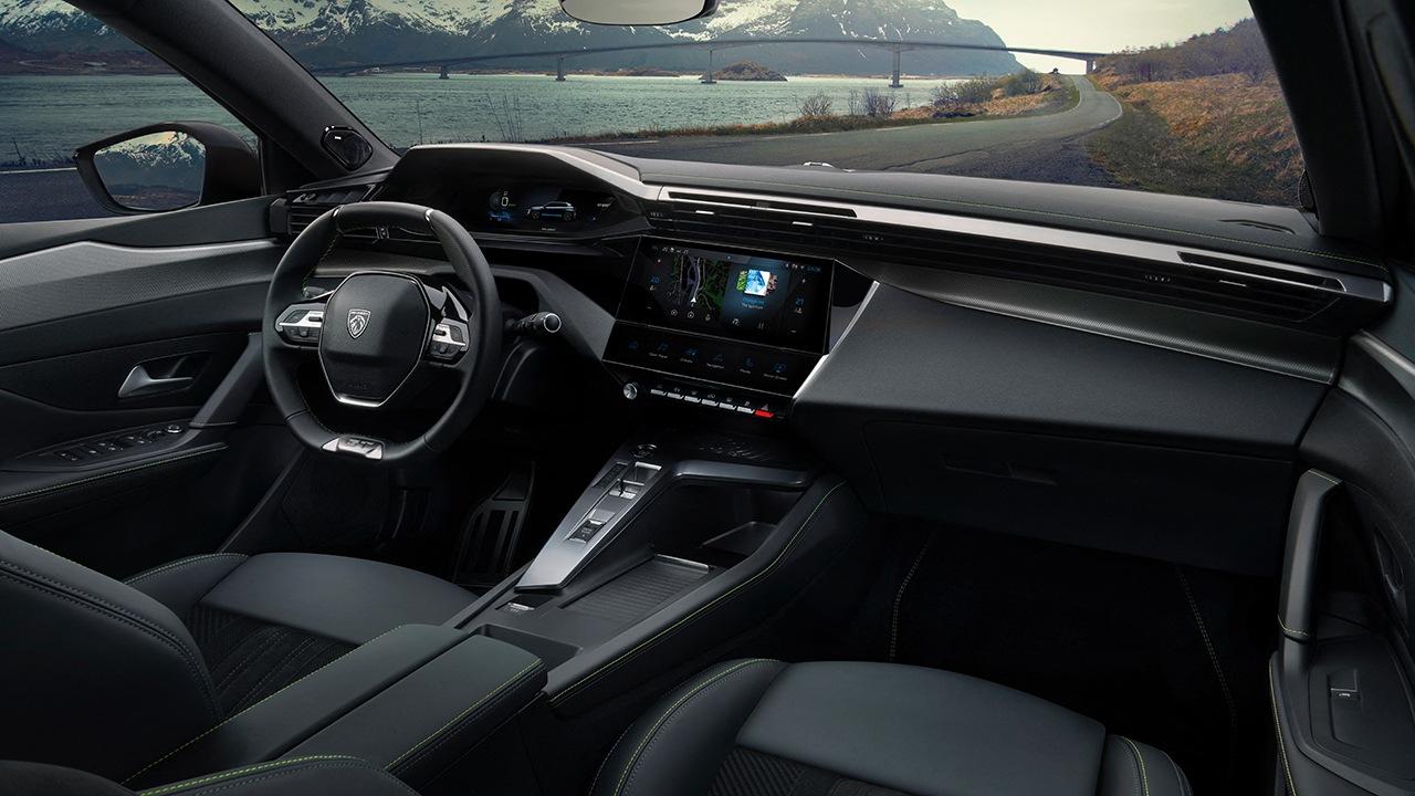 Peugeot 308 2021 - interior