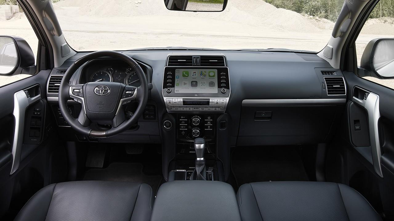 Toyota Land Cruiser 2021 - interior