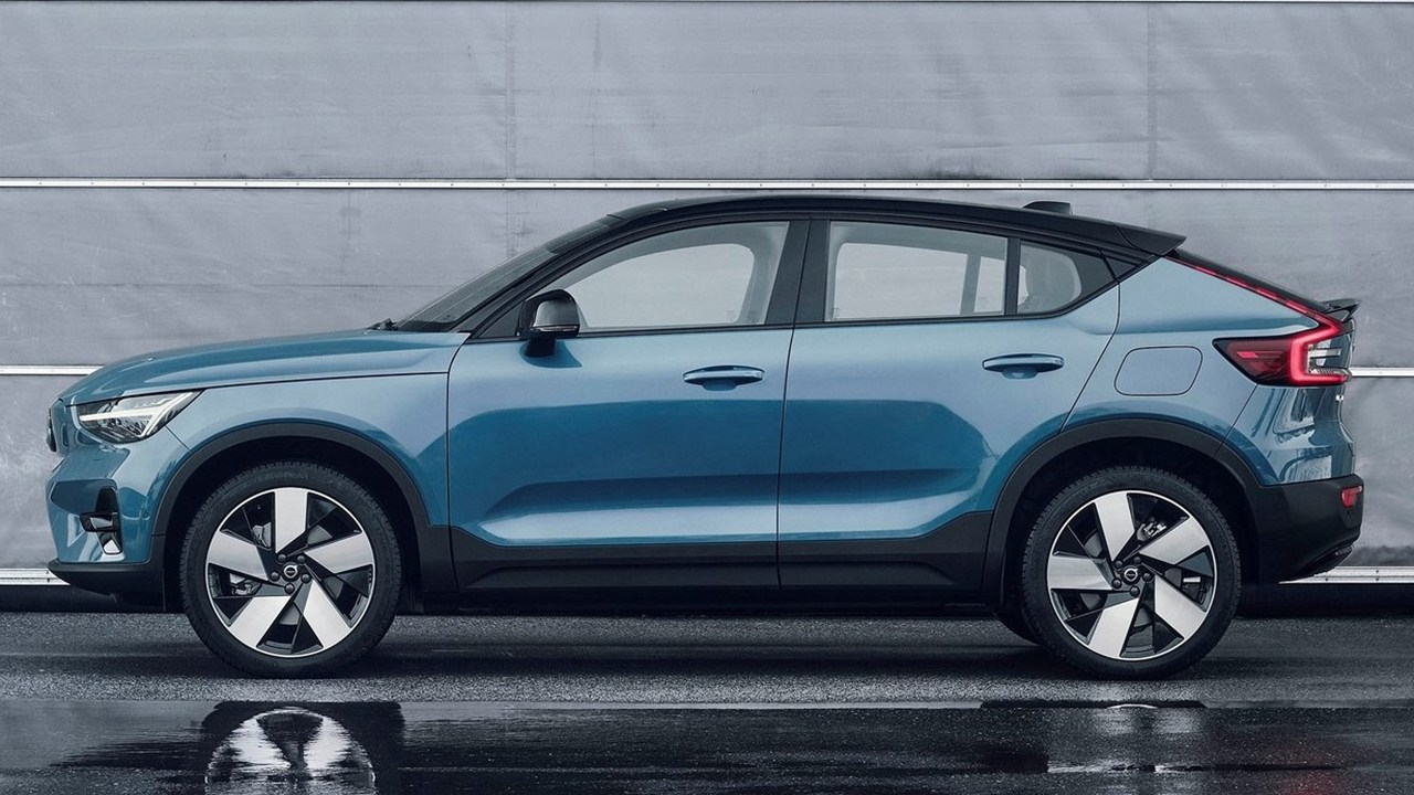 Volvo C40 Recharge - lateral