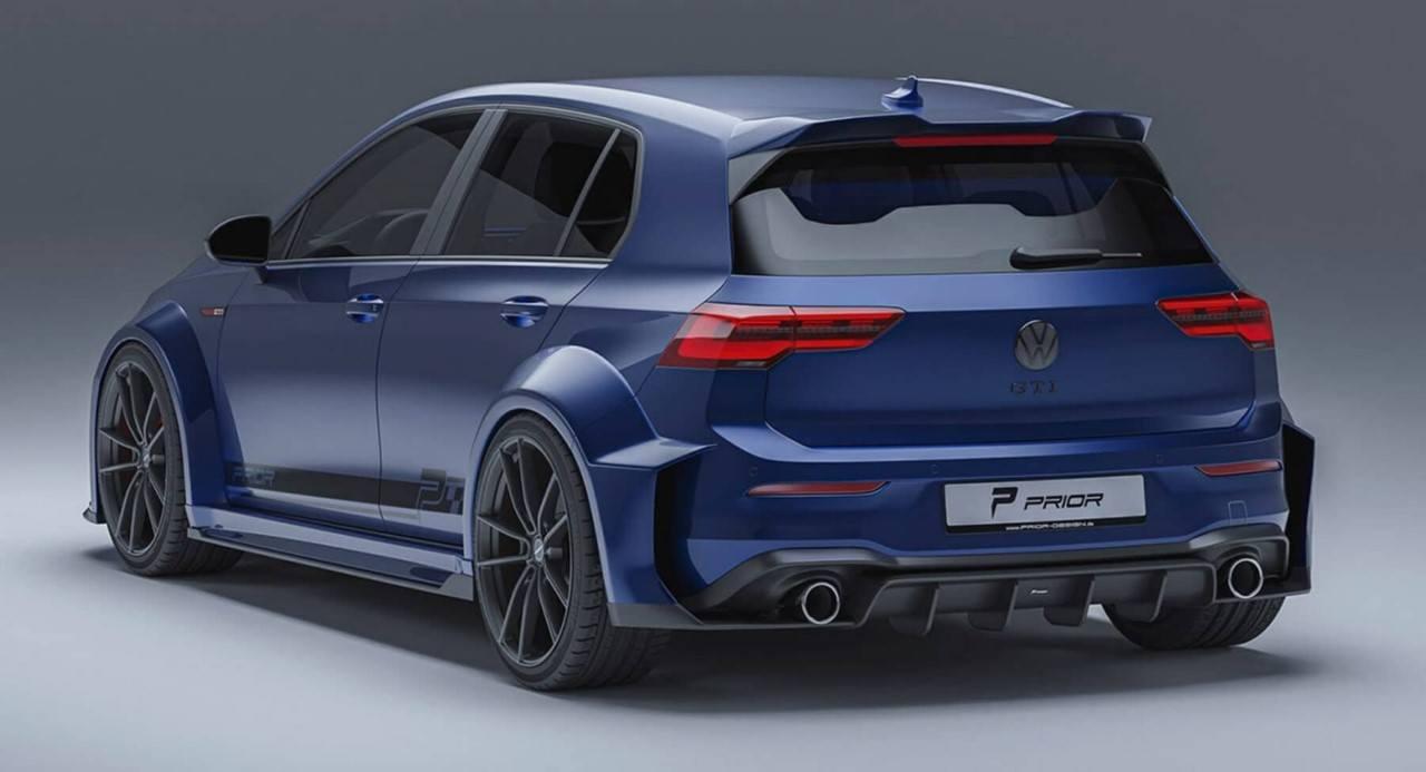 Foto PRIOR Design Volkswagen Golf GTI 2021 - exterior