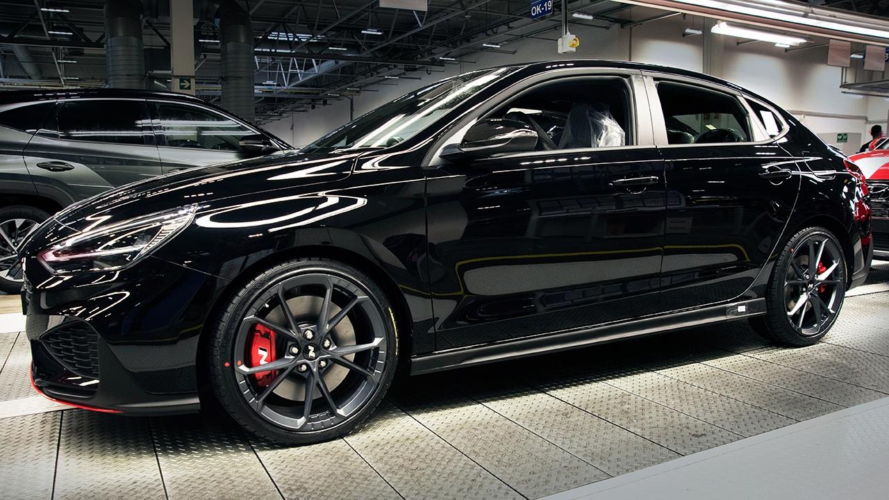 Hyundai i30 N 2021 - producción