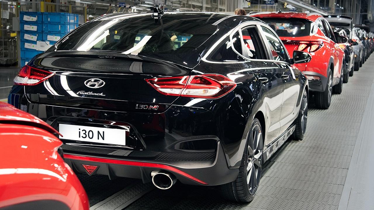 Hyundai i30 Fastback N 2021 - producción