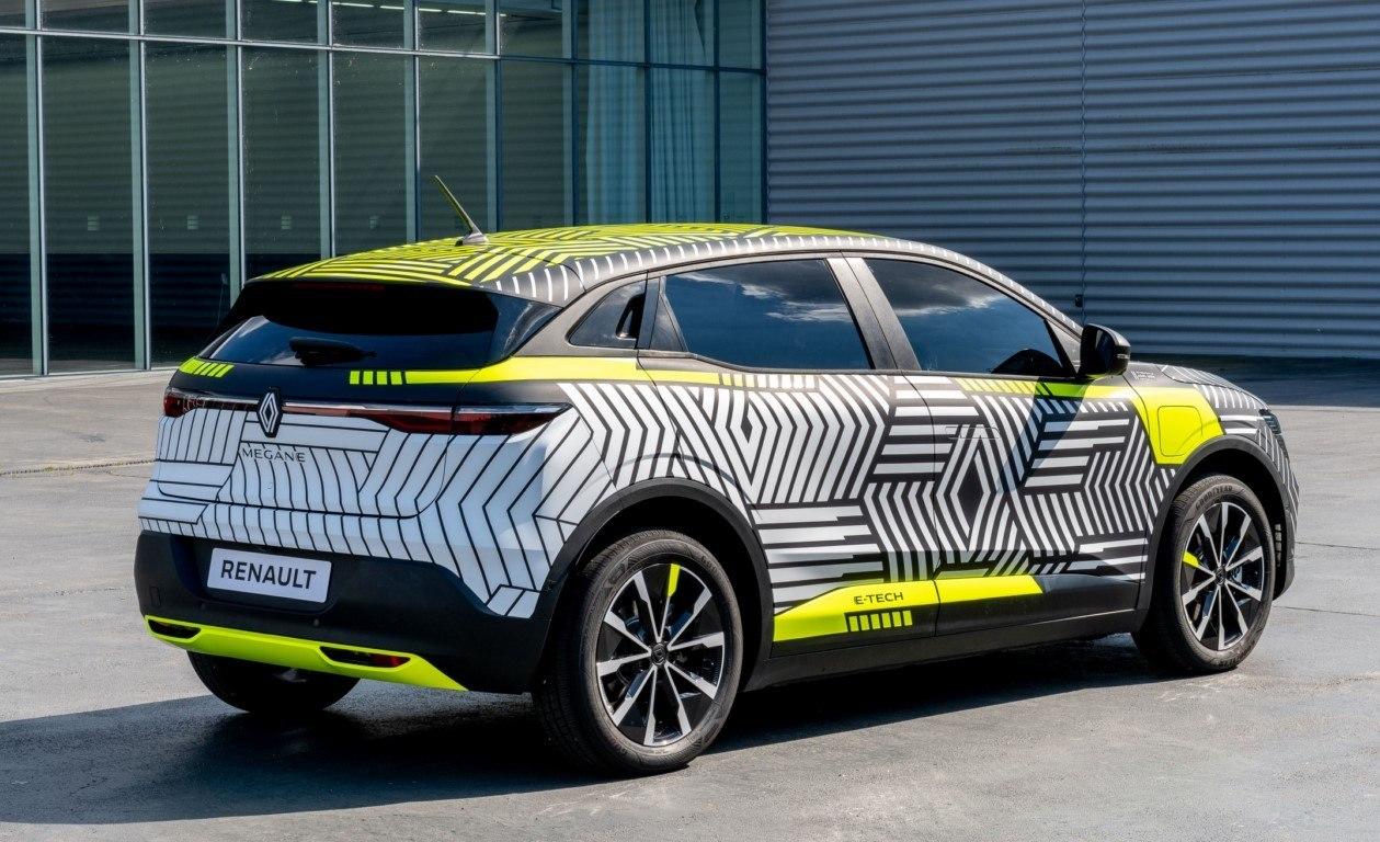 Foto Renault Mégane E-Tech Electric 2022 - exterior