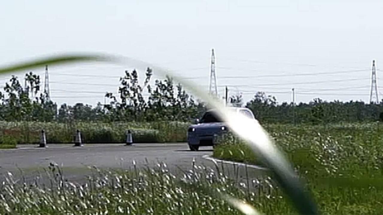 Foto espía del SUV eléctrico de Smart