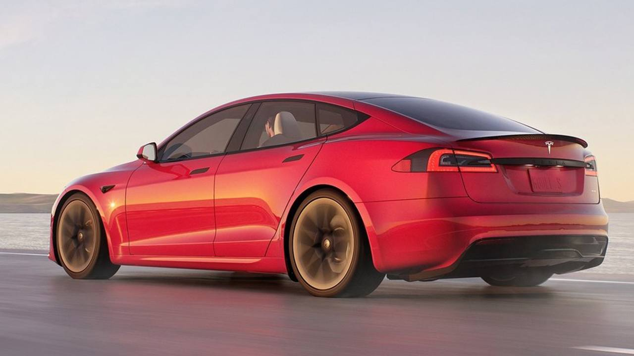 Tesla Model S 2021 - posterior