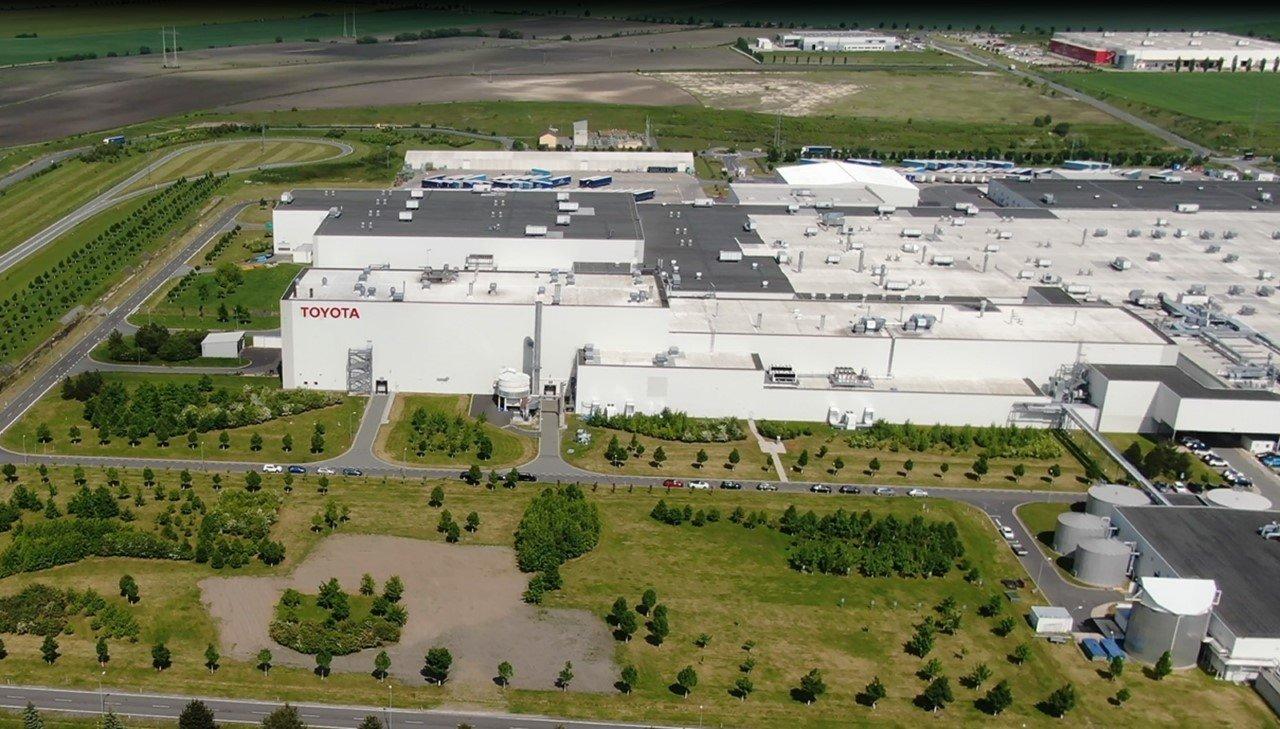 Vista de la factoría de Toyota en Kolin, República Checa