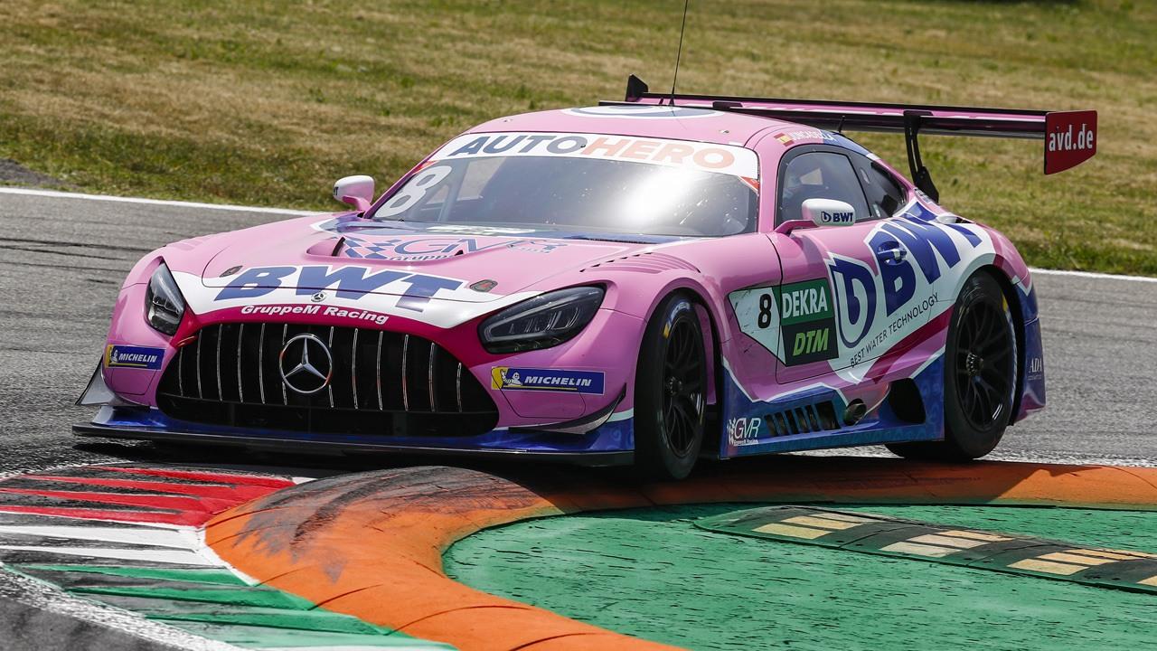 Vincent Abril logra la primera pole de la era GT3 del DTM en Monza